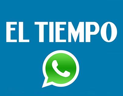 EL TIEMPO + Whatsapp