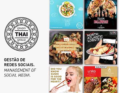 Social Media | Thai Group Vilamoura