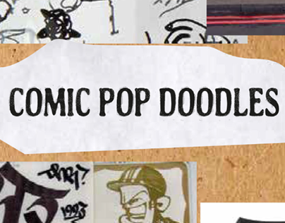 Comic Pop Doodles - Graphic Proposals