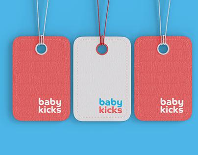Apresentação de logo - babykicks