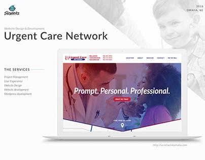 Urgent Care Network Omaha Website Redesign