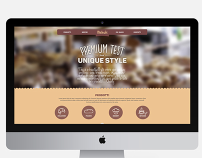 Bake.it - Bakery Website