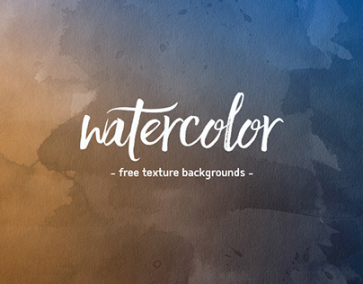 Watercolor Backgrounds Freebie