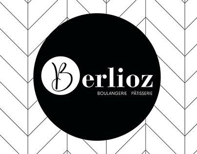 Identité visuelle pour la boulangerie Berlioz