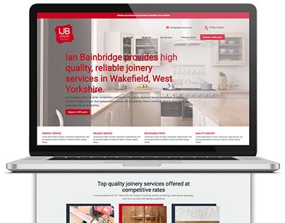 Joinery Service Branding Website & Business Card Design