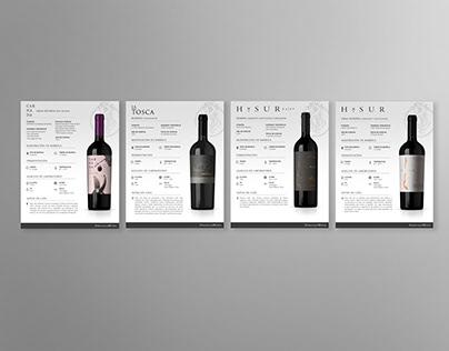 Fichas Técnicas (Peralillo Wines)