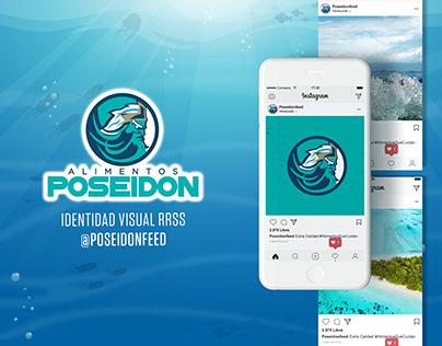 """""""Alimentos Poseidon"""" Identidad Visual RRSS"""