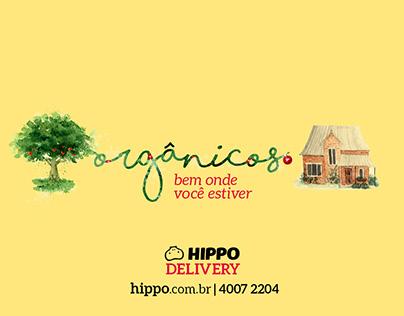Campanha Hippo Delivery - Hippo