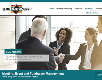 Website - Black Diamond Summit