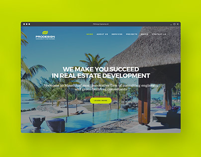 PRODESIGN Website