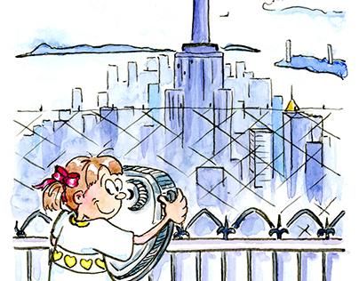 I Love NY Illustration