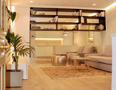 Apartamento interior 28m2. Madrid centro.