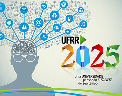 """Cartaz """"UFRR 2025"""""""