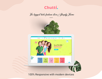 Chutti - Shopify Theme