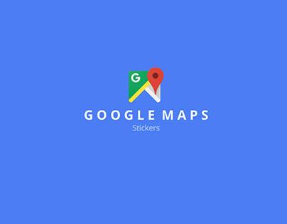 Google Maps Stickers