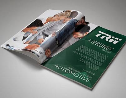 TRW Automotive - employer branding press campaign