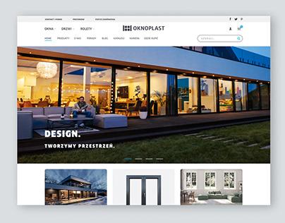 OKNOPLAST   webdesign