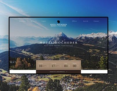 Hotel Hocheder - Website