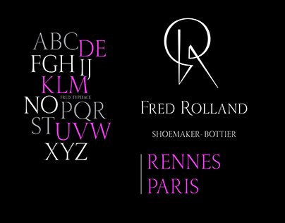 Fred Rolland visual identity
