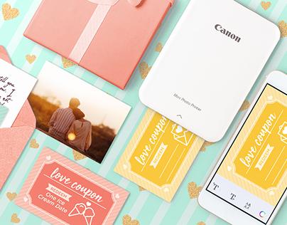 Canon - Social Media (Valentine Campaign)