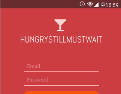 Restaurant Queue Android App - UI Redesign