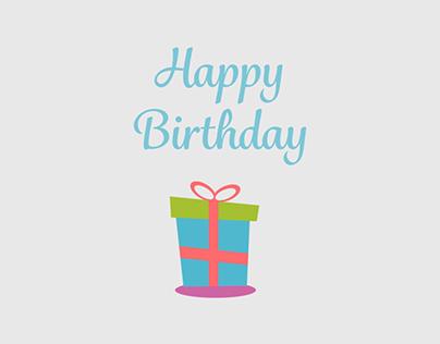 Happy Birthday GIF Animation