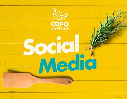 Social Media - Copo de Fruta