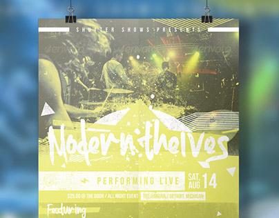 Band Concert Show Flyer