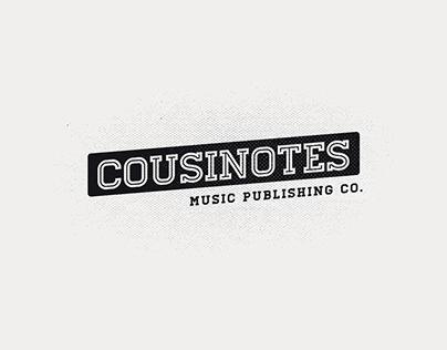 Cousinotes Music Publishing Branding