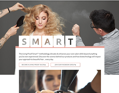 Living Proof SMART magazine and minisite
