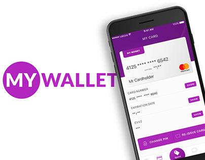 MyWallet App Concept
