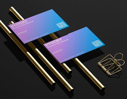Business Card Visit Mockup Template Pack, Mockup Design