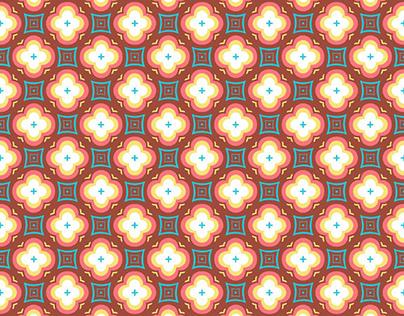 """""""Vintage dico"""" pattern"""