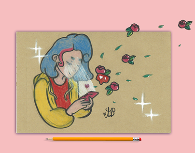 Illustrations à la main