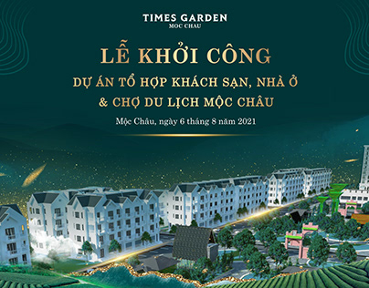 Key Visual Times Garden Moc Chau