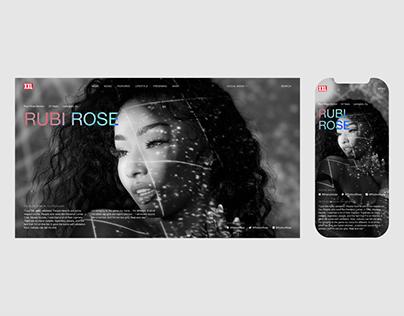 XXL Magazine® — news website redesign