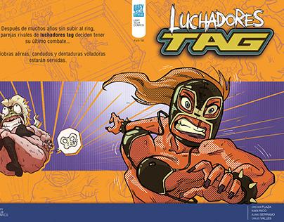 Luchadores Tag - Minicómic