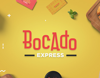 Bocado express - Branding