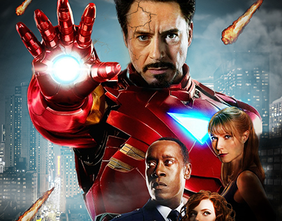 film poster - IRON MAN-