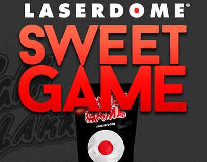 Sweet Game - Laserdome, Branding & Packaging