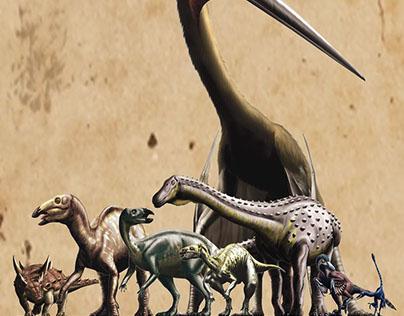 Dwarf dinosaurs in the Hațeg region