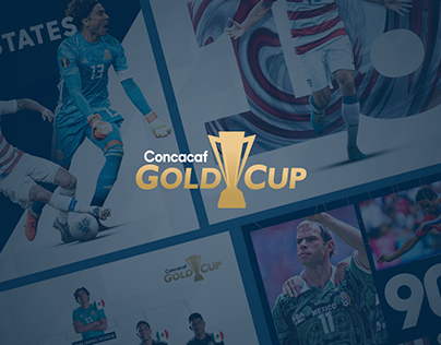 Concacaf Gold Cup - Social Media Content