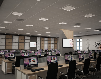 call center offices design