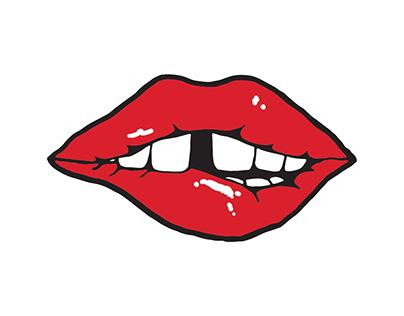 Bite Lip.