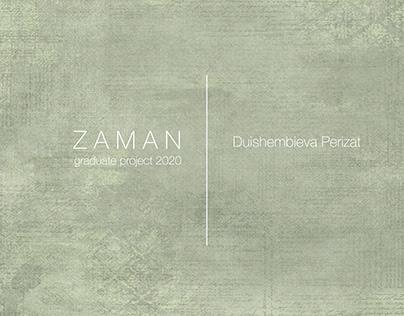 """""""Zaman"""" graduate project 2020"""