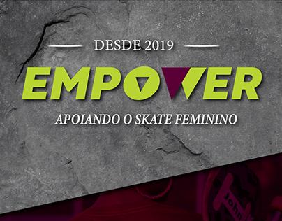 Empower - Linha de vestuário para mulheres skatistas