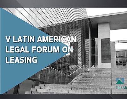 V Latin American Legal Forum on Leasing
