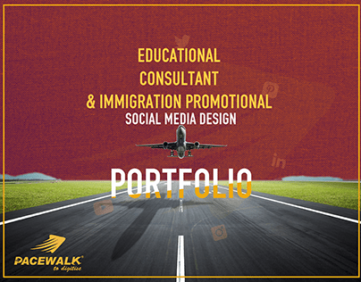 Educational Consultant & Immigration Promotional Design