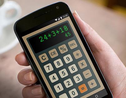 Daily UI Challenge Day 4: Calculator