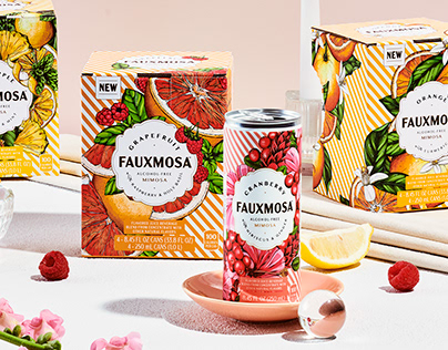 FAUXMO Packaging Illustration